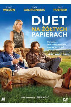 Duet na żółtych papierach DVD