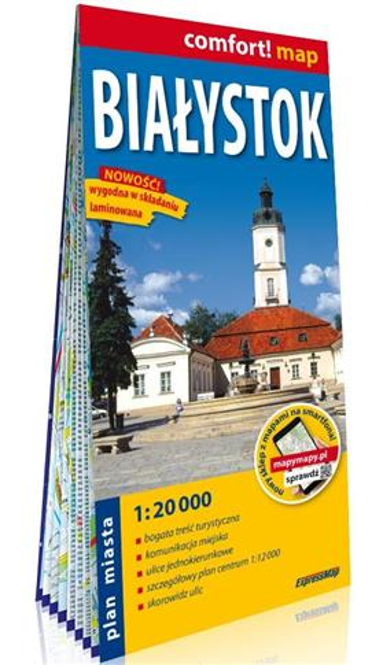 Comfort! map Białystok 1:20 000 w.2020