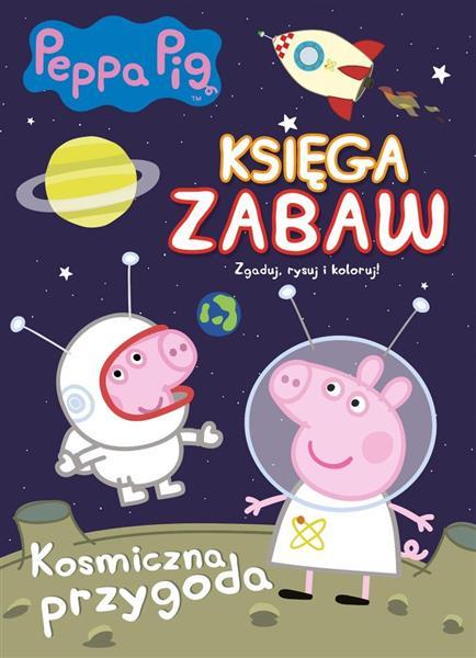 Peppa Pig. Księga Zabaw nr 2 Kosmiczna..outlet