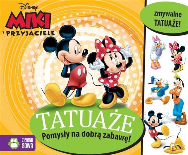 Myszka Miki i przyjaciele. Tatuaże OUTLET