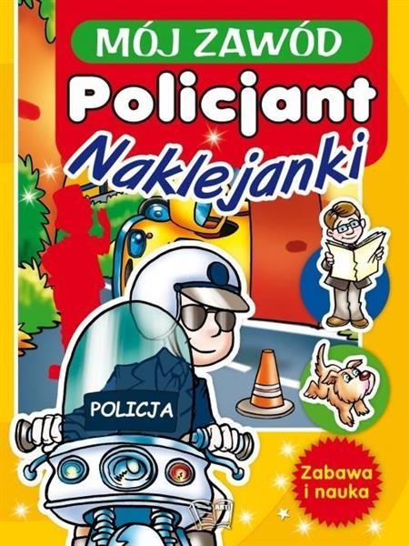 Mój zawód policjant Naklejanki OUTLET