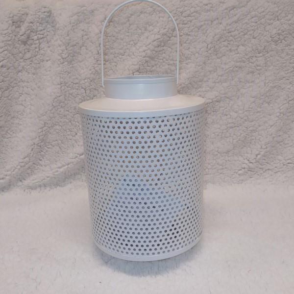Ozdobny lampion LED biały