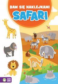 Baw się naklejkami. Safari