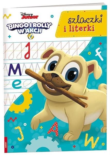 Bingo i Rolly w akcji. Szlaczki i literki
