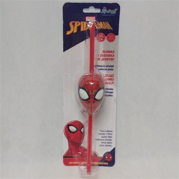 Słomka interaktywna - Spiderman