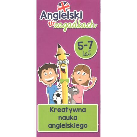 Angielski w zagadkach 5-7 lat Kretywna outlet
