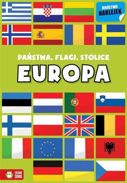Państwa, flagi, stolice. Europa OUTLET