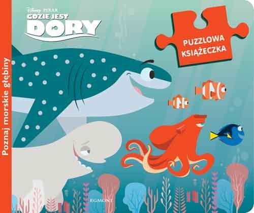 Gdzie jest Dory? Puzzlowa książeczka