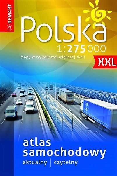 Atlas samochodowy Polski 2018 1:275 tys OUTLET