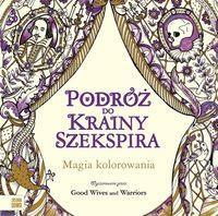 Podróż do krainy Szekspira Kolorowanka NOWY