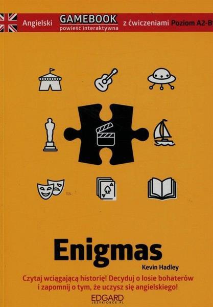 Angielski. Gamebook z ćwiczeniami. Enigmas
