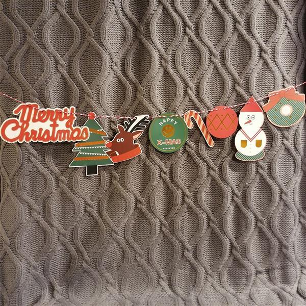 Markowa świąteczna girlanda Reserved