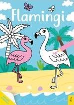 Moja kolorowanka. Flamingi