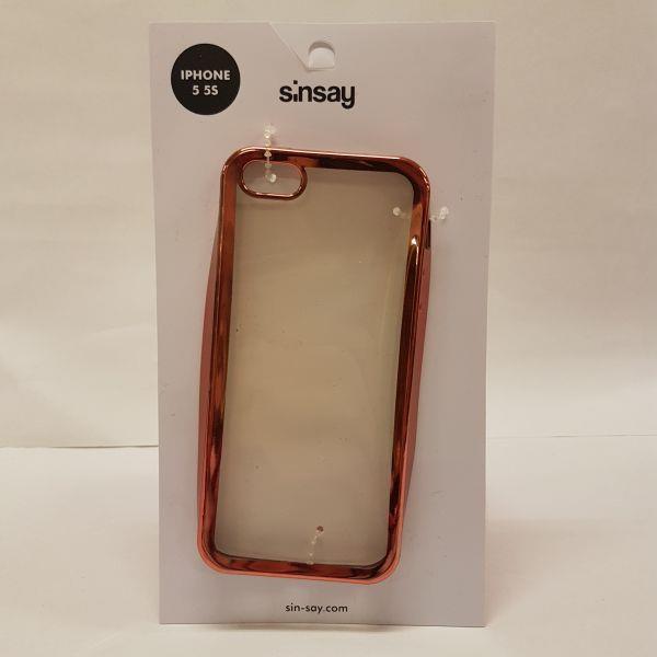 Sinsay markowe etui iPhone 5/5S