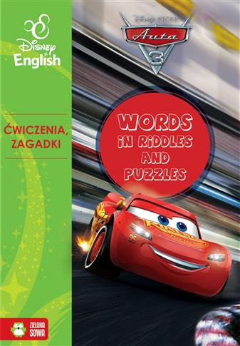 Words in riddles and puzzles auta 3 Disney english