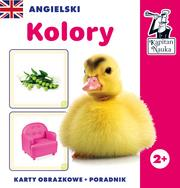 Angielski. Kolory (karty obrazkowe + poradnik)