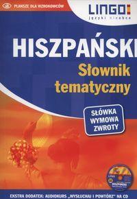 Hiszpański słownik tematyczny + CD