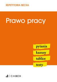 PRAWO PRACY REPETYTORIA BECKA outlet