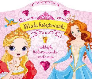 Małe Księżniczki Naklejki Kolorowanki Zadania