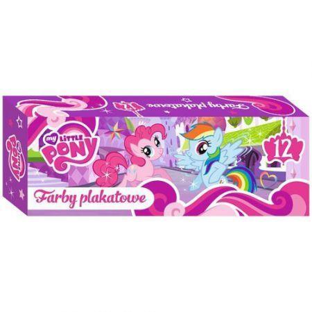 Farby plakatowe 12 sztuk My Little Pony outlet