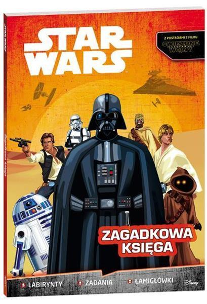 STAR WARS ZAGADKOWA KSIĘGA BR OUTLET