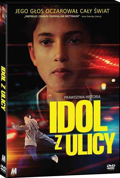 IDOL Z ULICY KSIĄZKA + DVD outlet