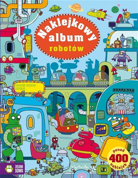 Naklejkowy album robotów OUTLET