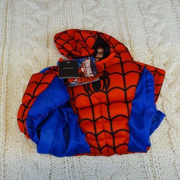 Kostium SPIDER-MAN MARVEL RESERVED, rozm 98/104