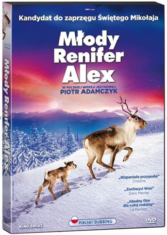 Młody renifer Alex, DVD