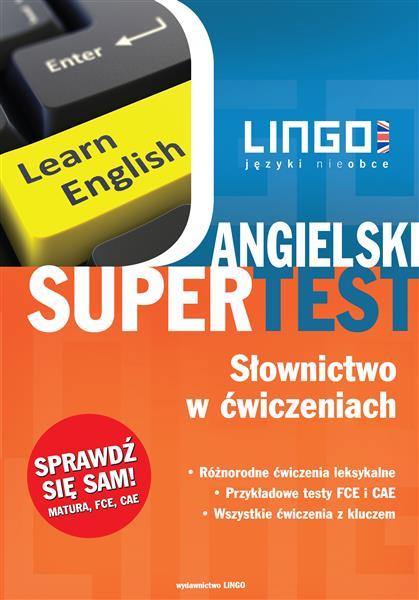 Angielski Supertest. Słownictwo w ćwiczeniach. Rep