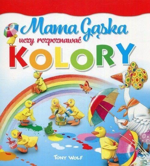 Mama Gąska uczy rozpoznawać kolory