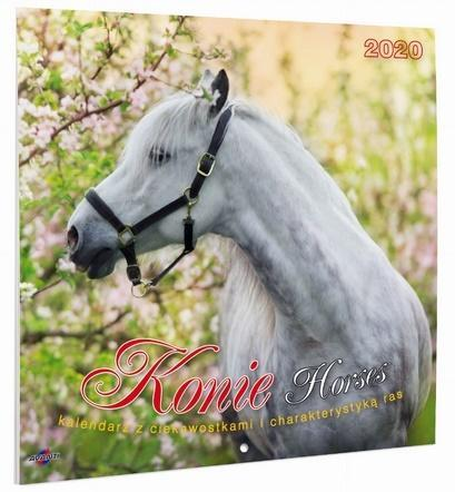 Kalendarz Albumowy Duży KONIE KAD-11 OUTLET