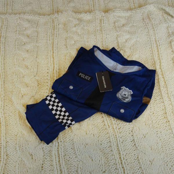 Kostium POLICJANTA RESERVED rozm: 92