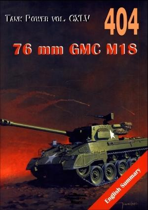 76 mm GMC M18. Tank Power vol. CXLV 404 Hell Cat