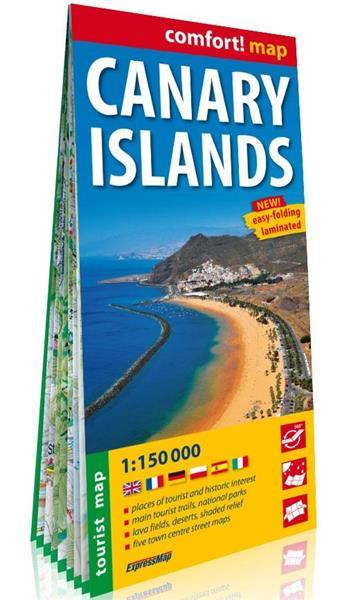 Comfort! map Wyspy Kanaryjskie 1:150 000