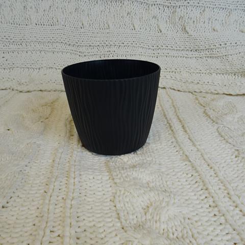 Doniczka Sandy -czarna