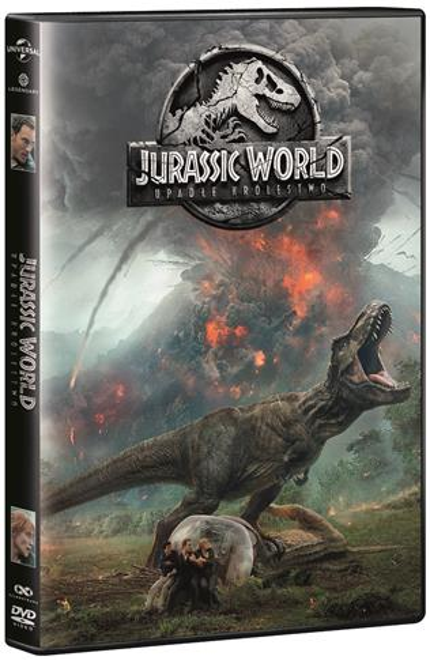 Jurassic World Upadłe Królestwo DVD outlet
