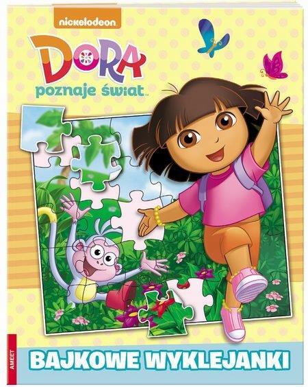 Dora poznaje świat Bajkowe wyklejanki
