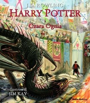 Harry Potter i Czara Ognia wyd. ilustrowane