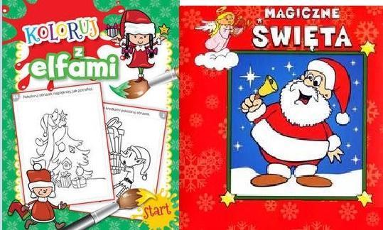 Pakiet: Koloruj z elfami/Magiczne święta