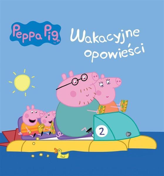 Peppa Pig nr 3 Wakacyjne opowieści OUTLET