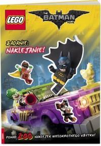 Lego The Batman Movie Zadanie naklejanie OUTLET