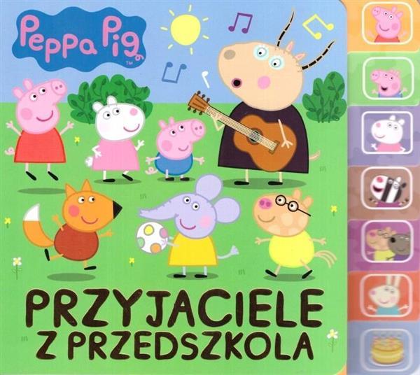 Peppa Pig Przyjaciele z przedszkola OUTLET