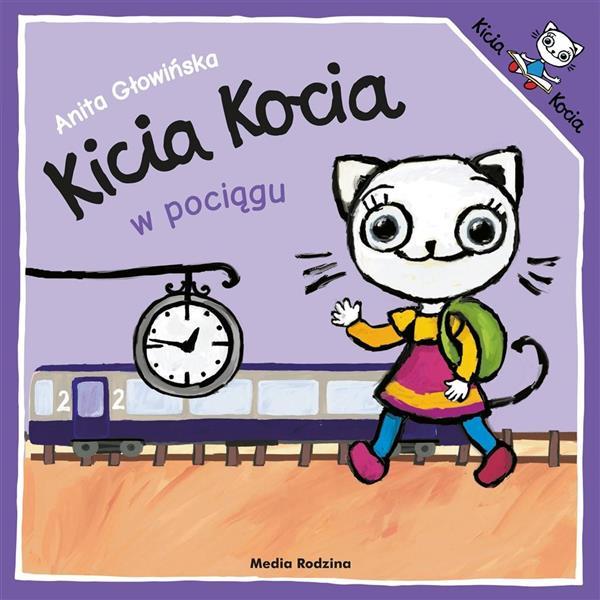 Kicia Kocia w pociągu w.2019