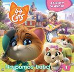 44 cats. Książka story 1 Na pomoc babci