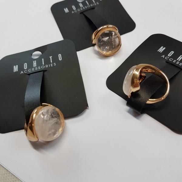 MARKOWY pierścionek MOHITO
