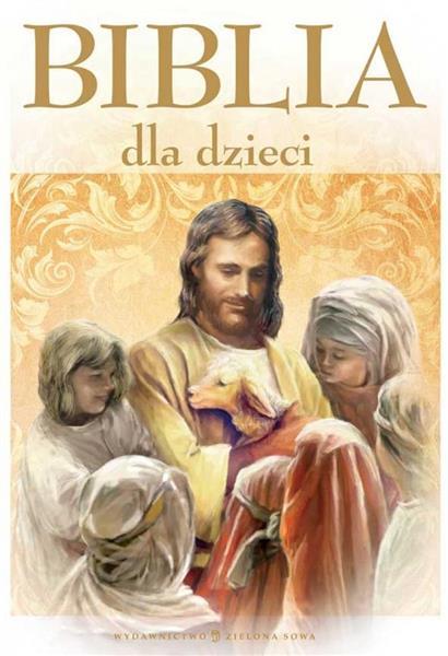 Biblia dla dzieci A4 OUTLET
