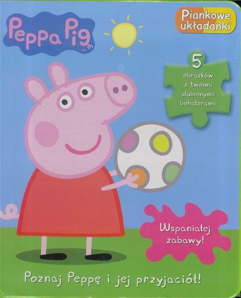 Peppa Pig. Piankowe układanki. Poznaj..outlet