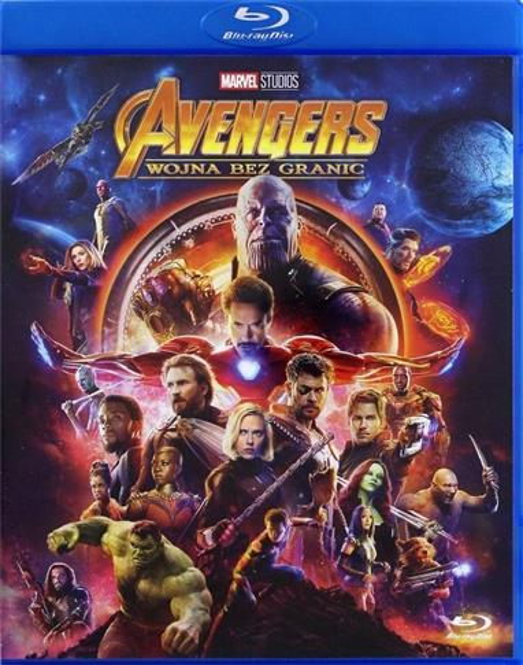Avengers: Wojna bez granic (Blu-ray)