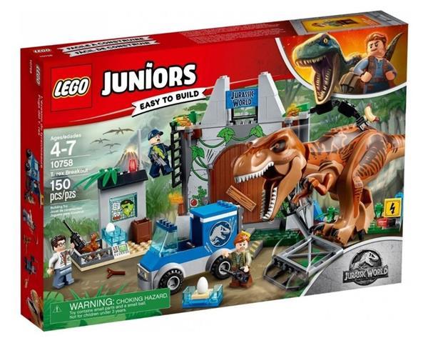 Lego JUNIORS 10758 T rex na wolności OUTLET
